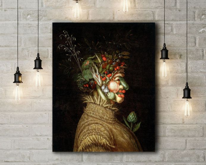 Arcimboldo: Summer. Fine Art Canvas.